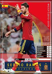 セルヒオ・ラモス | WCCF カード...